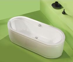 Athena - cada de baie dreapta din acril antibacterian - Cazi drepte