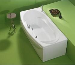 Naomi - cada de baie dreapta din acril antibacterian - Cazi drepte