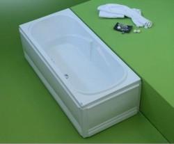 Favorit - cada de baie dreapta din acril antibacterian - Cazi drepte