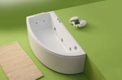 Neo - cada de baie pe colt din acril antibacterian - Cazi pe colt