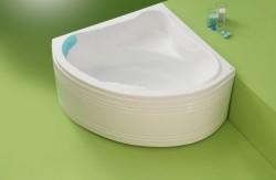 Nory - cada de baie pe colt din acril antibacterian - Cazi pe colt