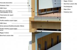Structura casa de lemn S2 - Structura casa de lemn
