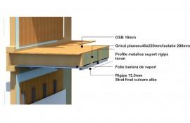 Structura casa de lemn S3 - Structura casa de lemn