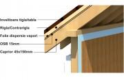 Structura casa de lemn S4 - Structura casa de lemn