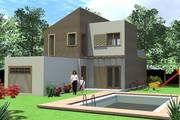 Casa din panouri macheta - Casa din panouri 2