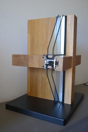 Pereti cortina lemn-aluminiu - Pereti cortina produse