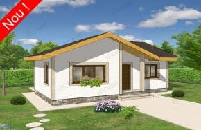 Proiect 1-012 - suprafata: 100 mp - Proiecte case parter