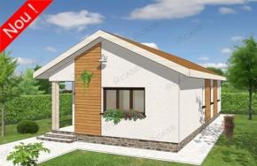 Proiect 1-014 - suprafata: 92 mp - Proiecte case parter