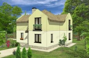 Proiect 2-006 - suprafata: 142 mp - Proiect casa cu mansarda