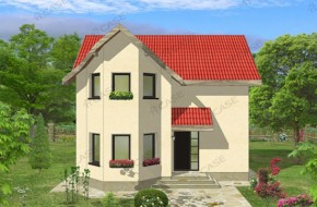 Proiect 2-007 - suprafata: 120 mp - Proiect casa cu mansarda