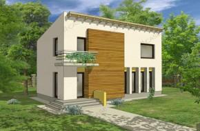 Proiect 2-008 - suprafata: 143 mp - Proiect casa cu mansarda