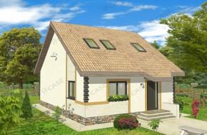 Proiect 2-012 - suprafata: 135 mp - Proiect casa cu mansarda