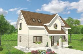 Proiect 2-017 - suprafata: 138 mp - Proiect casa cu mansarda
