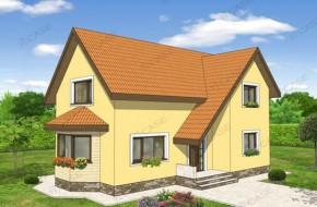 Proiect 2-018 - suprafata: 146 mp - Proiect casa cu mansarda