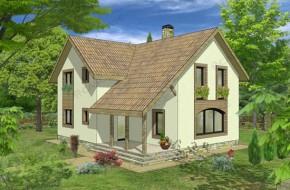 Proiect 3-003 - suprafata: 193 mp - Proiect casa cu mansarda