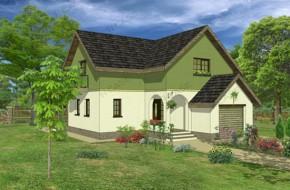Proiect 3-004 - suprafata: 213 mp - Proiect casa cu mansarda