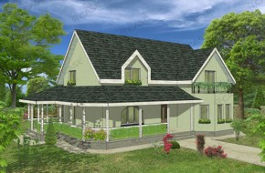 Proiect 3-005 - suprafata: 232 mp - Proiect casa cu mansarda