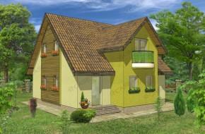 Proiect 3-006 - suprafata: 156 mp - Proiect casa cu mansarda