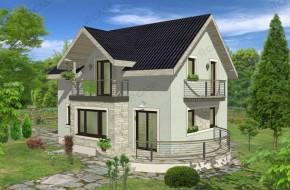 Proiect 3-009 - suprafata: 151 mp - Proiect casa cu mansarda