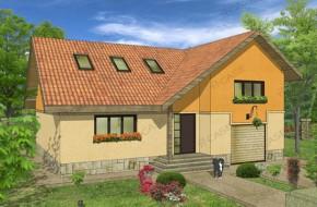 Proiect 3-012 - suprafata: 218 mp - Proiect casa cu mansarda