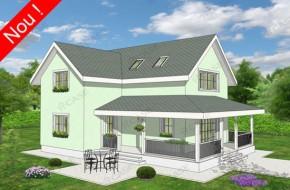 Proiect 3-019 - suprafata: 172 mp - Proiect casa cu mansarda