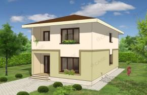 Proiect 3-015 - suprafata: 172 mp - Proiect vile cu etaj