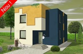 Proiect 3-022 - suprafata: 160 mp - Proiect vile cu etaj