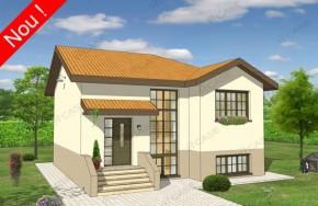 Proiect 3-025 - suprafata: 160 mp - Proiect vile cu etaj