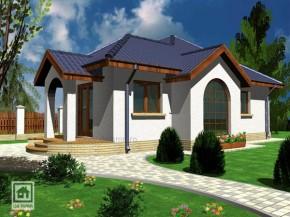 Proiect Casa Calista - suprafata: 87 mp  - Proiecte case parter