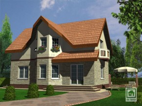 Proiect Vila Aston - suprafata: 126 mp - Proiecte Vile