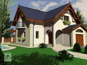 Proiect Vila Boemia - suprafata: 213 mp - Proiecte Vile