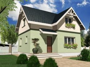 Proiect Casa Mini - suprafata: 93 mp - Proiecte case mici