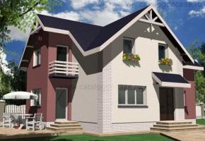 Proiect Casa Amsterdam - suprafata: 149 mp - Proiecte case