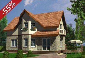 Proiect Casa Aston - suprafata: 126 mp - Proiecte case