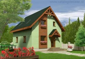 Proiect Casa Alexandra - suprafata: 124 mp - Proiecte case