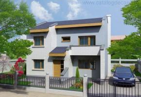 Proiect Casa Ingrid - suprafata: 148 mp  - Proiecte case