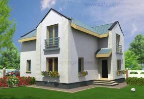 Proiect Casa Alsacia - suprafata: 142 mp  - Proiecte case