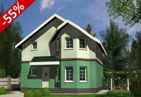 Proiect Casa Essen - suprafata: 126 mp - Proiecte case