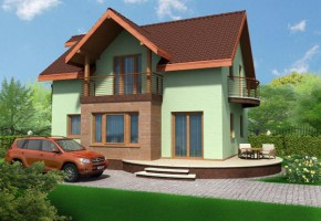 Proiect Casa Mures - suprafata: 151 mp - Proiecte case