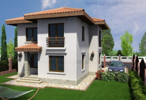 Proiect Casa Palermo - suprafata: 130 mp - Proiecte case