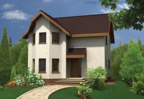 Proiect Casa Poiana - suprafata: 120 mp - Proiecte case