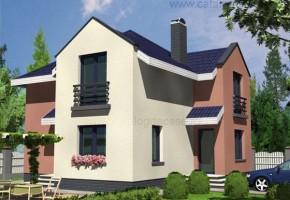 Proiect Casa Hortensia - suprafata: 142 mp  - Proiecte case