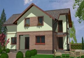 Proiect Casa Rin - suprafata: 126 mp - Proiecte case