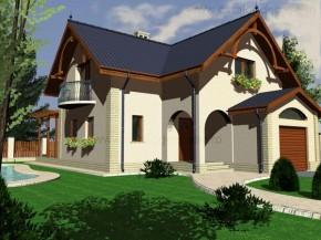 Proiect Casa Boemia - suprafata: 213 mp - Proiecte vile