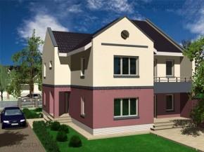 Proiect Casa Bordeaux - suprafata: 270 mp - Proiecte vile