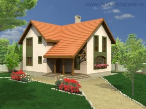 Proiect Casa Campina - suprafata: 193 mp - Proiecte vile