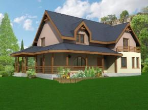 Proiect Casa Carolina - suprafata: 233 mp - Proiecte vile