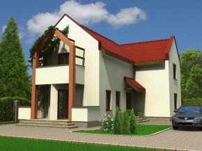 Proiect Vila Nico - suprafata: 186 mp - Proiecte vile