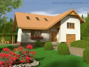 Proiect Vila Cheia - suprafata: 218 mp - Proiecte vile
