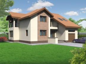 Proiect Vila Leon - suprafata: 284 mp - Proiecte vile